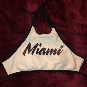 Cute Miami bikini top!